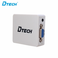 High Quality DTECH DT-6528 HDMI to VGA signal converter