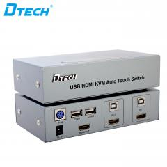 Latest DTECH DT-8121 USB/HDMI KVM Switch 2 to 1 Online